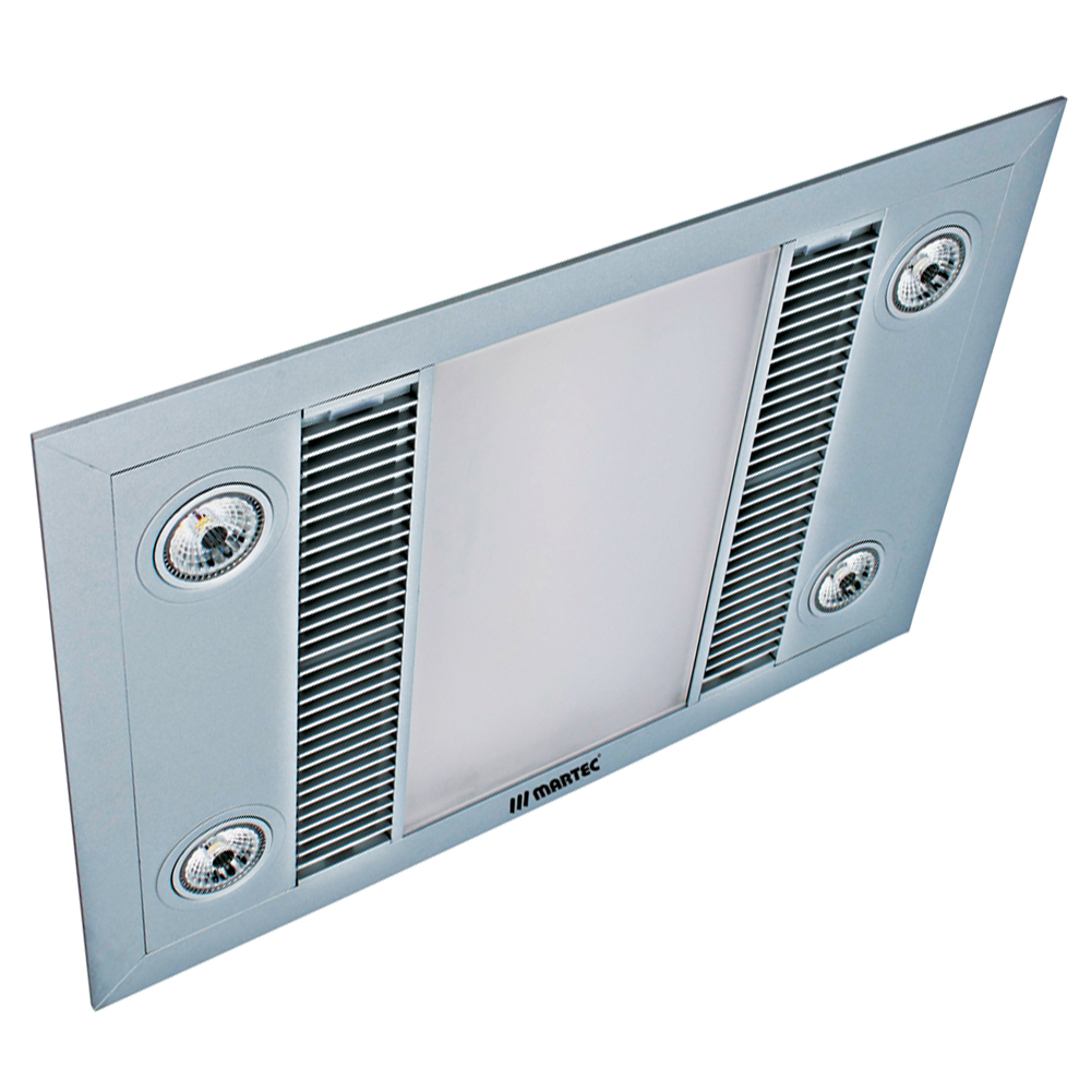 Linear 3 In 1 Bathroom Heater With Exhaust Fan And Light Code 6001 Suncom Lighting
